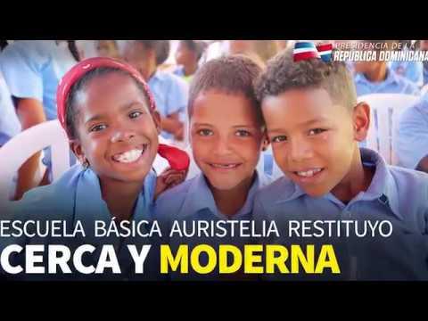 VIDEO: La Vega: Danilo Medina entrega dos nuevas escuelas en beneficio más de 1,600 estudiantes