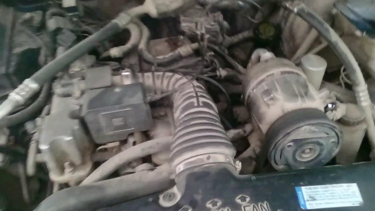 Camioneta s10 huele a gasolina cruda y tiembla el motor ...