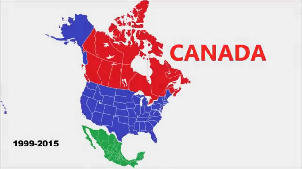 The New Future Map of North America   YouTube
