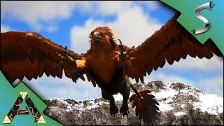 GRIFFIN TAMING! GRIFFIN TAMING TRAP + BEAVER ARMY! - Ark: RAGNAROK [DLC Gameplay E7]