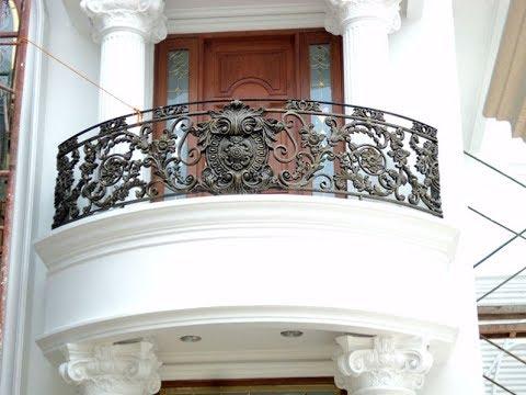 desain balkon rumah mewah - youtube