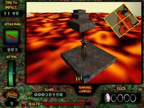 Nanosaur gameplay