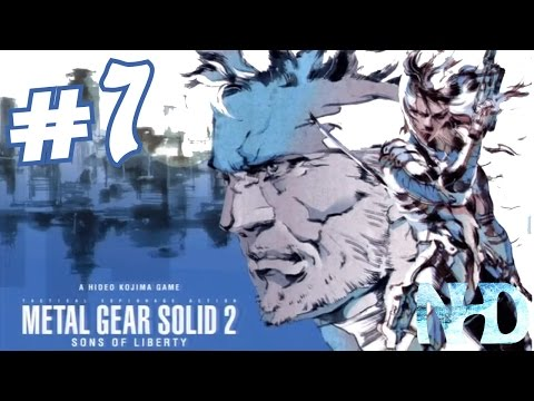 Let's Play Metal Gear Solid 2 Substance (pt7) Big Shell Plant
