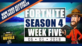 FORTNITE BREAKING NEWS: Your Fortnite Account Can Easily be Stolen, Fortnite for Switch? Vehicles?