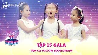 Biệt tài tí hon | tập 15: Nghi Đình lần đầu kết hợp cùng Tú Thanh, Quỳnh Chi trong tiết mục tam ca