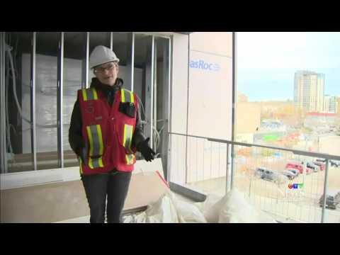 Oldcastle Modular SurePods In The News - Hilton Hotel Calgary Alberta  HD