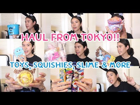 Squishy Slime & Toys Haul From Japan !!
