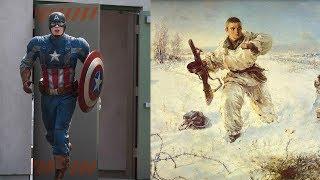 Capt. America vs Александр Матросов. Каких героев помнит молодёжь?