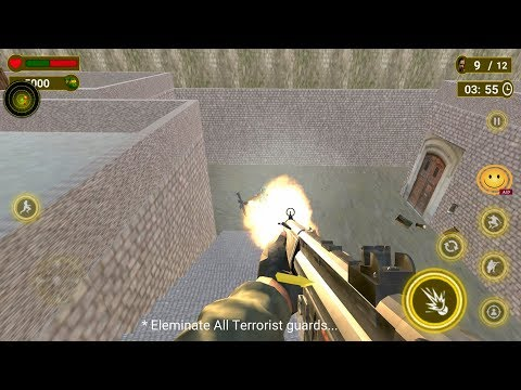 Special Commando Squad Anti Terrorist Mission (by Wall Street Studio 3D) Android Gameplay [HD]