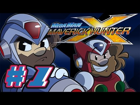 Mega Man X: Maverick Hunter Let's Play #1 - April Fools 3D