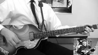 the beatles ed sullivan special till there was you bass cover hofner
