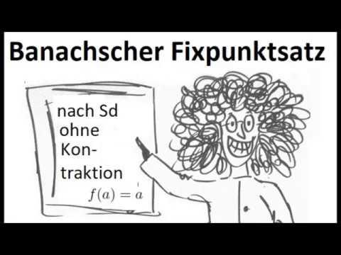 Banachscher Fixpunktsatz Einfuhrung Der Bfs Einfach Erklart Interpretation Nach Sd Youtube
