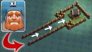 LVL 1 HERO vs. LVL 7 GIANT CANNON!!! | Clash Of Clans | WHO WILL WIN!?!