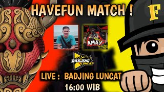 HAVE FUN MATCH CLASH SQUAD 4VS4 | FRNTL & UWOE JR