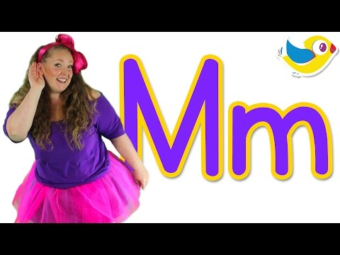 The Letter M Song - Learn The Alphabet