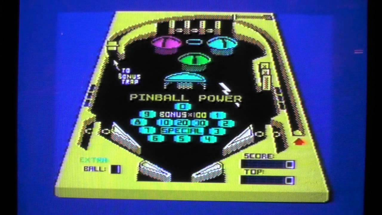 Pinball construction set - Let S Compare Pinball Power Aka 3d Pinball C64 Vs Cpc Vs Spectrum