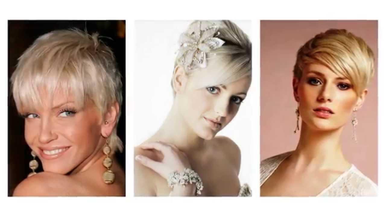 opsætning af kort hår til bryllup