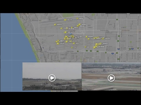 ✈️🔴Live Air Traffic! LAX🔴   RADAR + ATC + LIVECAM   Los Angeles LAX Airport!