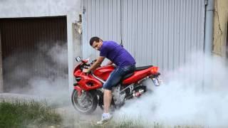 Suzuki Tl1000S Burnout !!!