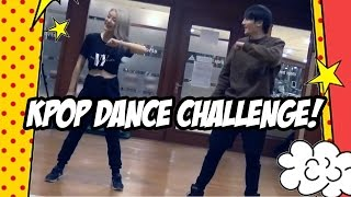 KPOP Idol Challenges me to a DANCE ROUTINE!