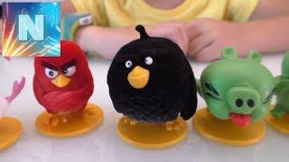 Энгри Бердз Распаковка Свит Бокс Angry Birds SWEET BOX 3Д пазл Игрушки Матильда приключения конкурс