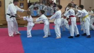 Игровая тренировка для младшей детской группы по айкидо