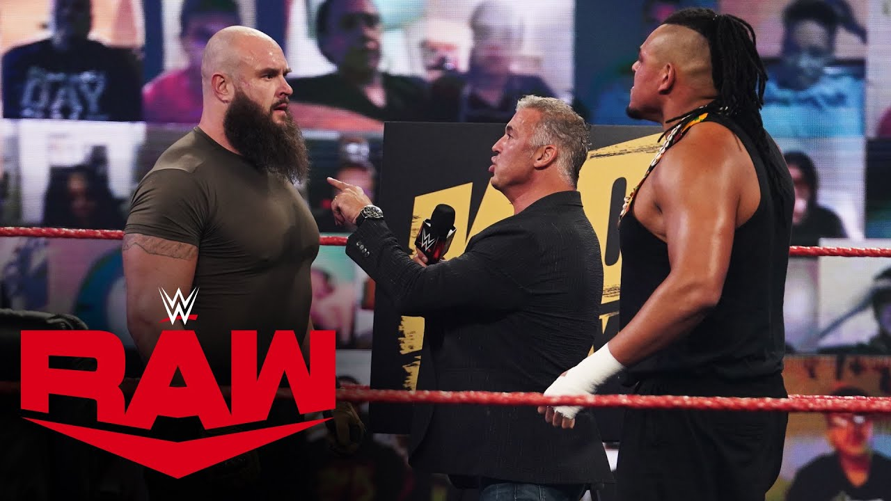 """Download Braun Strowman and Dabba-Kato butt heads on """"The Kevin Owens Show"""": Raw, Sept. 21, 2020"""