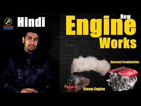 Engine Kaise Kaam Karta Hai ?| Internal combustion engine|Steam Engines| Simple Explanation [Hindi]