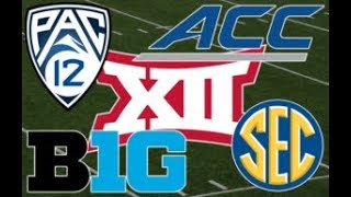 * LIVE * WORST CONFERENCE SO FAR - COLLEGE FOOTBALL 2018