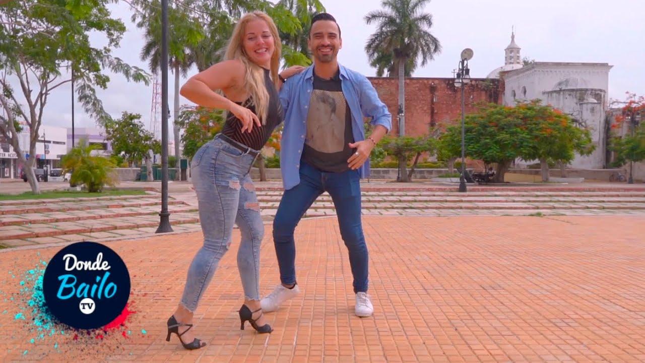 Chica Cubana Me Sorprende Bailando Salsa en la Calle #YanetGarau #AstroOnline