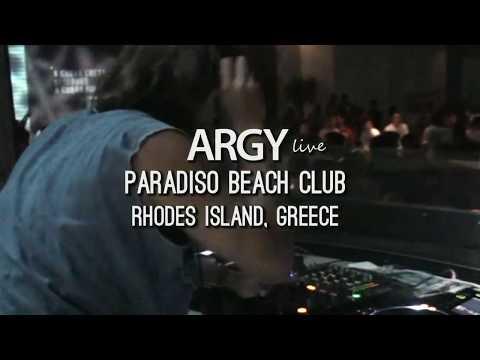 Argy live dj set @ Paradiso Beach Club | Rhodes Island, Greece