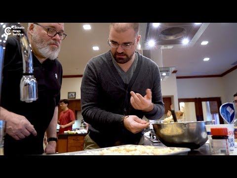 Soup's on for seminarians
