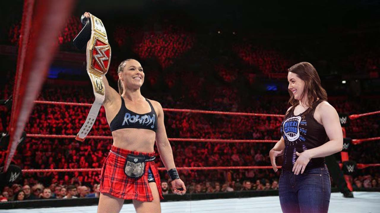 Ronda Rousey vs Nikki Cross : IRON Full Match