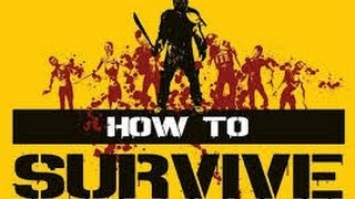 How To Survive - First Boss Fight (PC)( Iron Man Difficulty)