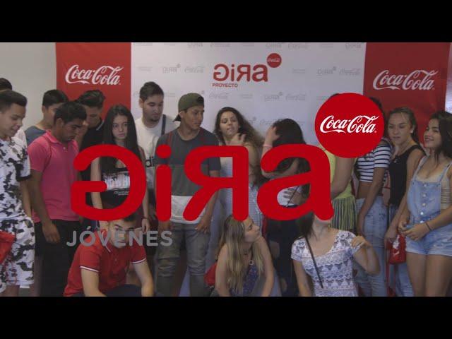 GIRA Jóvenes Coca-Cola llega a Barcelona