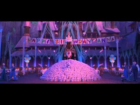 La reine des neiges Joyeux anniversaire