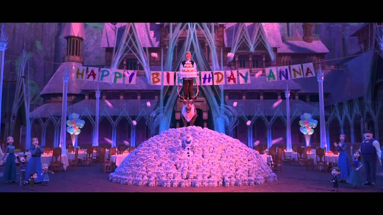 Gut bekannt La reine des neiges Joyeux anniversaire - YouTube AK31