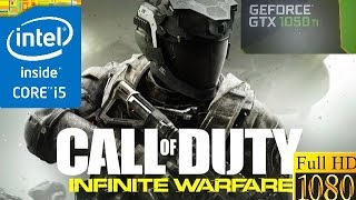 (i5 6400 + GTX 1050 Ti)Call of Duty Infinite Warfare (ULTRA)(60)