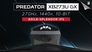 Jack of All Trades, Master of Many - Acer Predator XB273U GX (270Hz 1440p)