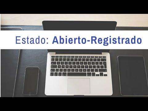 Estado expedientes nacionalidad:  abierto- registrado