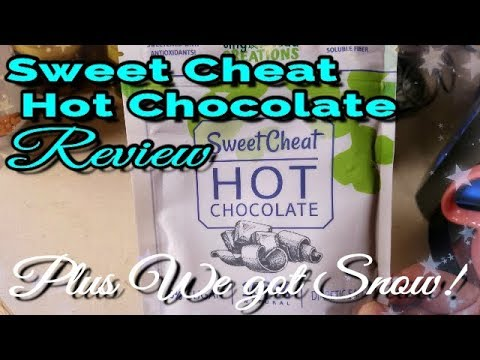 sweet-cheat-hot-chocolate-mix-review- -we-got-snow!