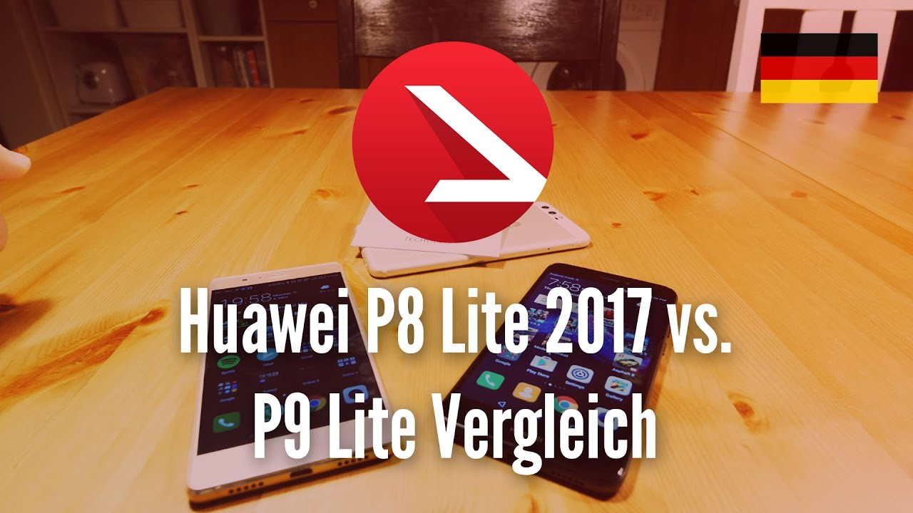 Huawei P8 Lite 2017 Vs P9 Lite 2016 Vergleich