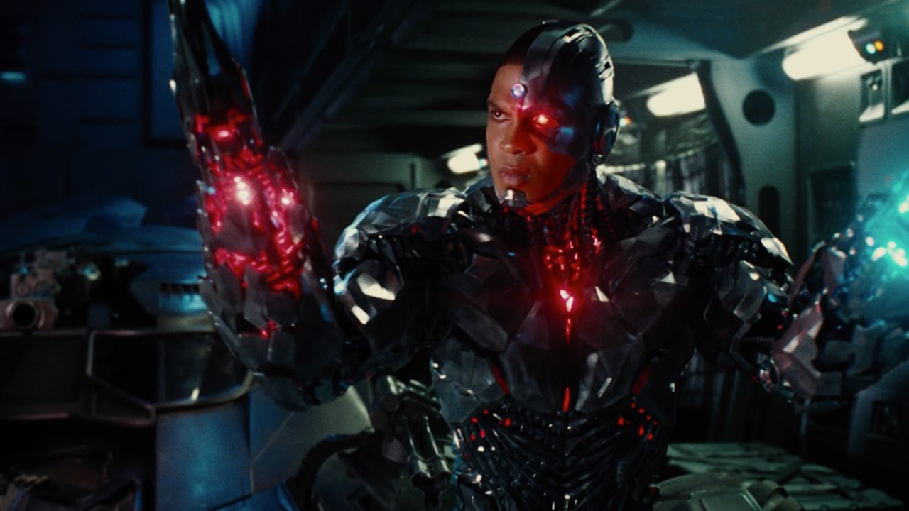 unite the league cyborg youtube