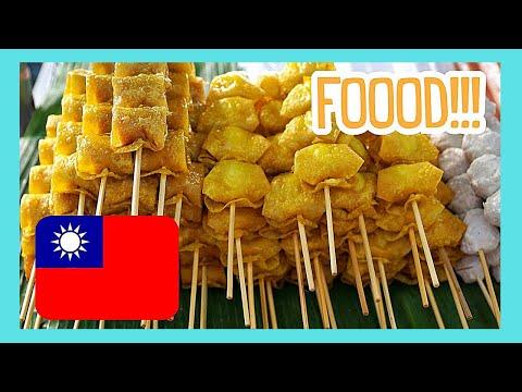 TAIPEI, touring the night food market of SHILIN in TAIWAN
