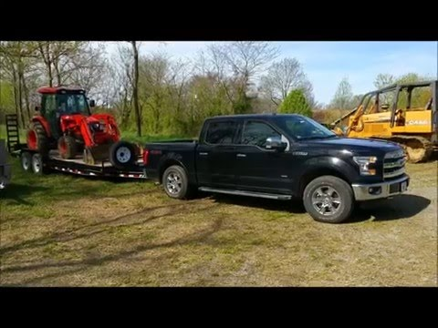 2016 Ford Ecoboost 3.5 Real world towing 10,500 up 10% grade SLOWLY
