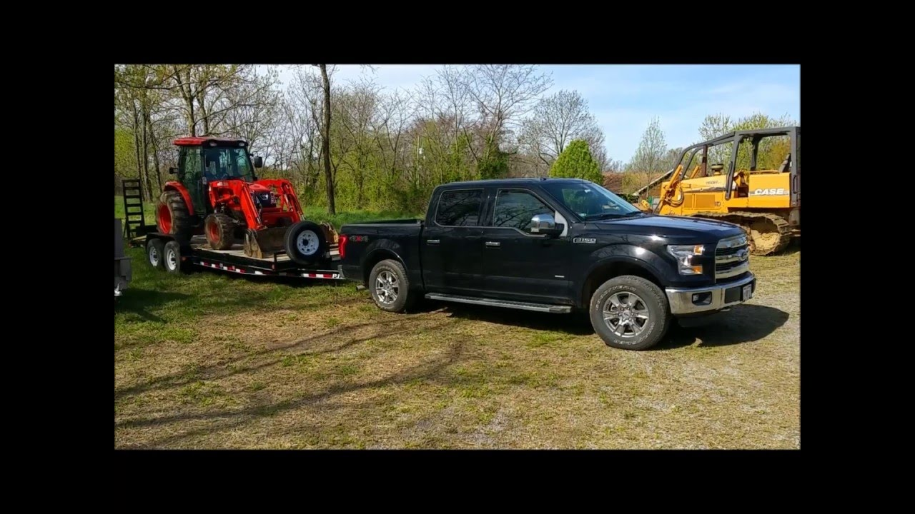 2016 Ford Ecoboost 3 5 Real World Towing 10 500 Up Grade Slowly You