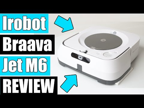 iRobot Braava Jet M6  REVIEW - (6110) Robot Mop - UPDATED!!