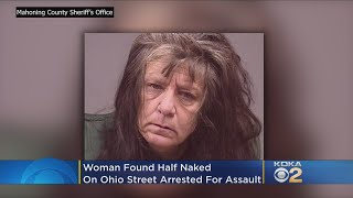 Police: Woman Found Half Naked In Road, Assaults EMT, Kept Saying 'You Wanna Play? We'll Play'