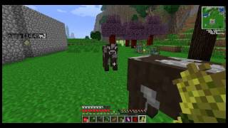 Technocraft # 15 - minecraft 2013 - Feed station le mucche si riproducono da sole  -