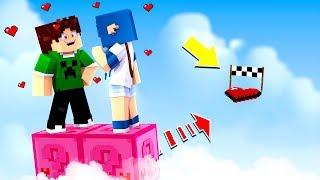 QUEM VAI CHEGAR PRIMEIRO NO CORAÇÃO ?! - Minecraft (BAIXAMEMORIA VS MOONKASE)